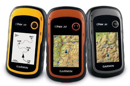 GPS-навигатор туристический