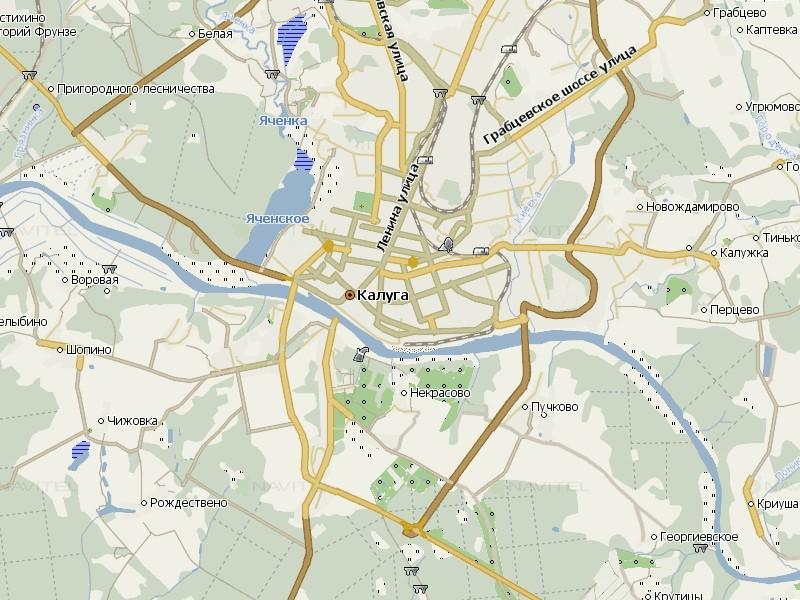 Карта Калуги для Навител Навигатор