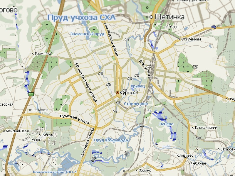 Карта Курска для Навител Навигатор