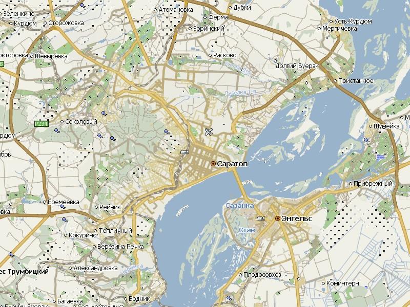 Карта Саратова для Навител Навигатор